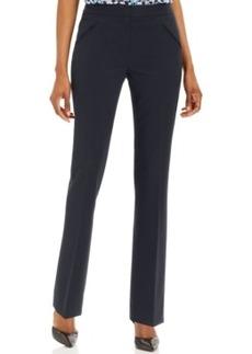Tahari ASL Flat-Front Trousers