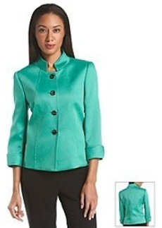 Tahari ASL® Four Button Front Jacket