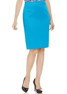 Tahari Asl Hopsack Pencil Skirt