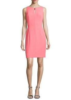 Tahari ASL Keyhole Sleeveless Sheath Dress