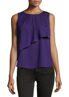 Tahari ASL Layered Sleeveless Blouse