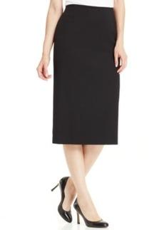 Tahari Asl Midi Column Skirt