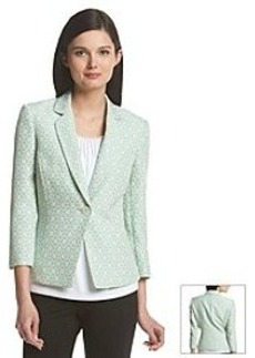 Tahari ASL® Notch Collar Jacquard Jacket