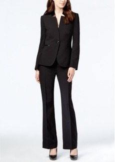 Tahari Asl One-Button Pantsuit
