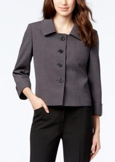 Tahari Asl Petite Four-Button Jacket