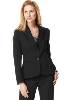 Tahari Asl Petite Two-Button Blazer