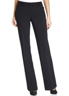 Tahari Asl Pinstriped Trousers