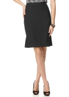 Tahari ASL Pleated Pencil Skirt