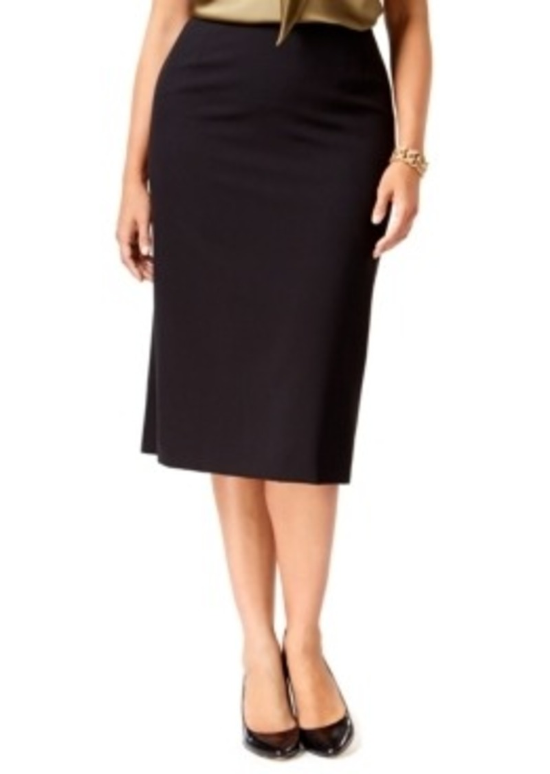 tahari tahari asl plus size midi pencil skirt skirts