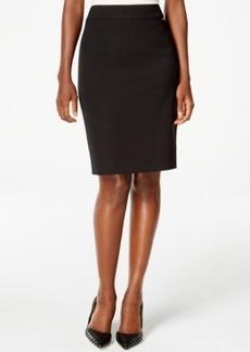 Tahari Asl Solid Pencil Skirt