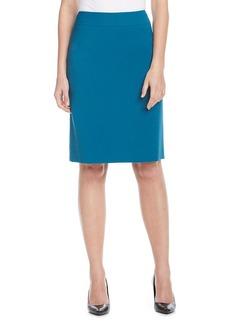 Tahari ASL® Solid Ponte Pencil Skirt