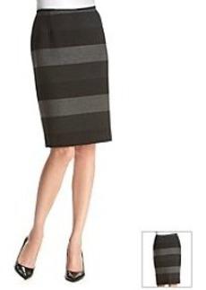 Tahari ASL® Wide Stripe Skirt