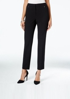 Tahari Asl Zip-Pocket Bi-Stretch Trousers