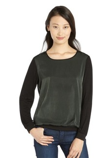 Tahari aspen 'Kennedy' color block brushed georgette blouse