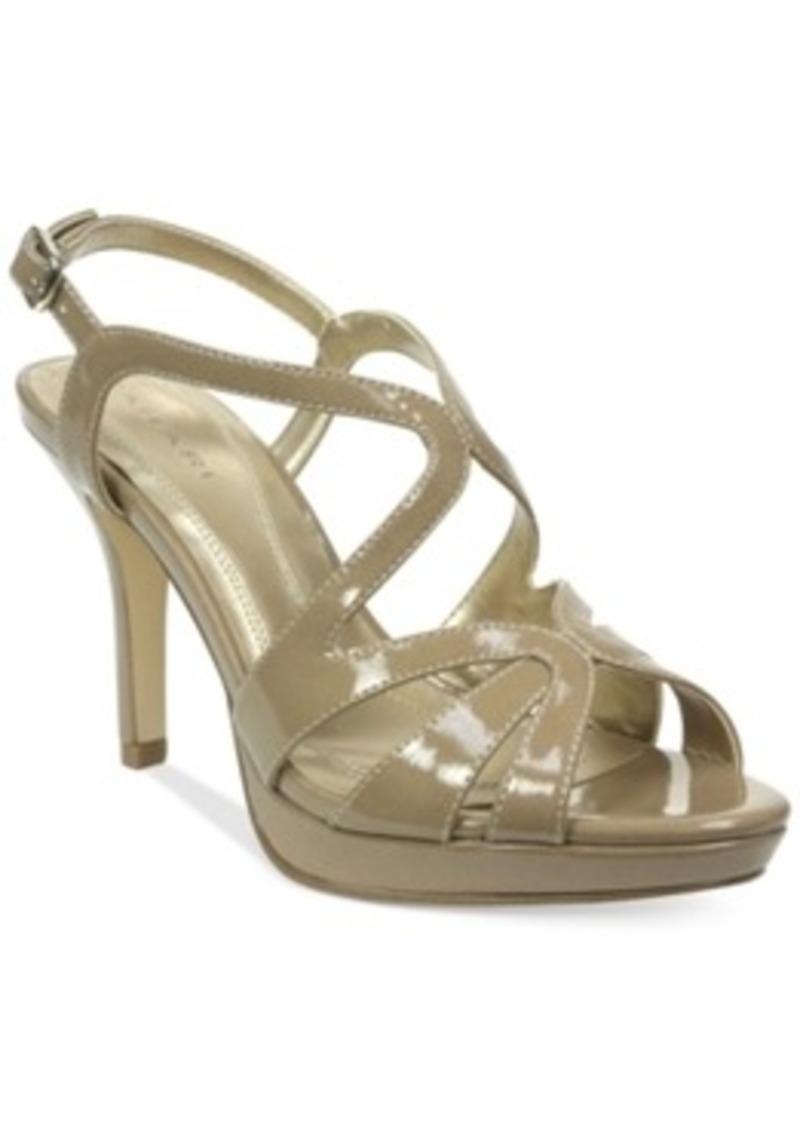 tahari balthasar platform dress sandals s shoes