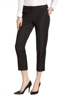 Tahari black cropped stretchy 'Sloane' pants