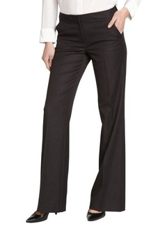 Tahari black 'Roxie' stretch wide leg pants