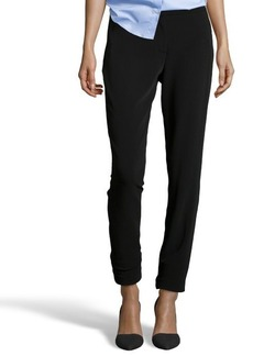 Tahari black stretch woven 'Jillian' slim pants