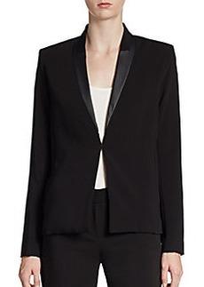 Tahari Blythe Unstructured Tuxedo Jacket