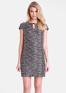 Tahari Bouclé Shift Dress