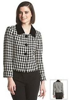 Tahari by Arther S. Levine® Houndstooth Jacket