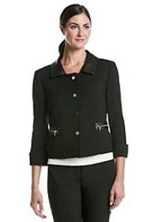 Tahari By Arthur S. Levine® Faux Leather Jacket