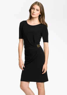 Tahari by Arthur S. Levine 'Kevin' Jersey Sheath Dress (Regular & Petite)