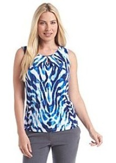 Tahari by Arthur S. Levine® Sleeveless Pleatneck Top