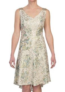 Tahari by ASL Betsy Metallic Dress - Silk Blend, Sleeveless (For Women)