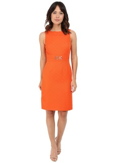 Tahari by ASL Sleeveless Sheath Dress w/ Belt