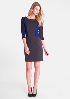 Tahari Colorblock Ponte Sheath Dress
