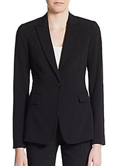 Tahari Darcy One-Button Blazer
