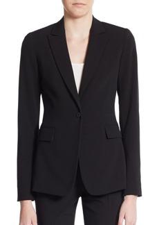Tahari Darcy One-Button Blazer