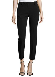 Tahari Elizabeth Twill Ankle-Length Pants