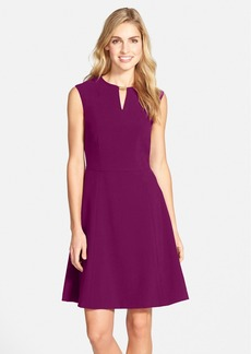 Tahari Embellished Bi-Stretch Fit & Flare Dress (Regular & Petite)