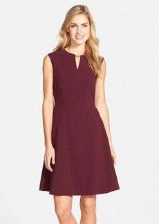 Tahari Embellished Bi-Stretch Fit & Flare Dress (Regular & Petite)