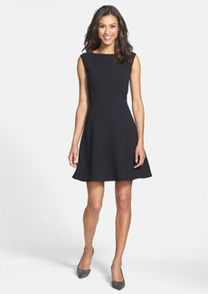 Tahari Empire Waist Fit & Flare Dress (Petite)