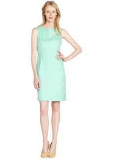 Tahari enlightenment holly pleated front sheath dress