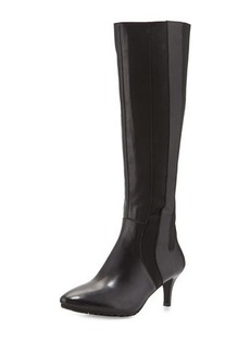 Tahari Fiore Leather Knee Boot