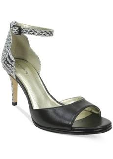 Tahari Gea Two-Piece Ankle Strap Pumps Women's Shoes