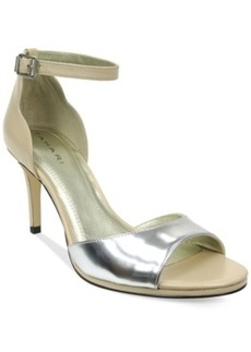 Tahari Gea Two-Piece Ankle Strap Pumps Women's Shoes