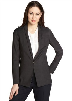 Tahari grey 'Anna' single button jacket