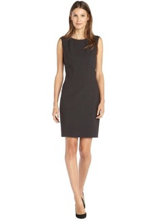 Tahari grey woven 'Emory' sheath dress