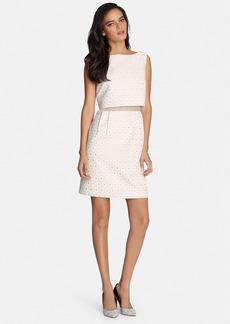 Tahari Jacquard Popover Dress (Regular & Petite)