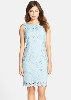 Tahari Lace Sleeveless Sheath Dress
