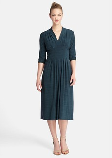 Tahari 'Mélange' Jersey Midi Dress