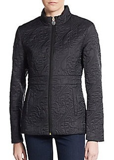 Tahari Manila Quilted Short Jacket