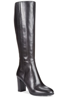 Tahari Pepita Wide Calf Tall Dress Boots