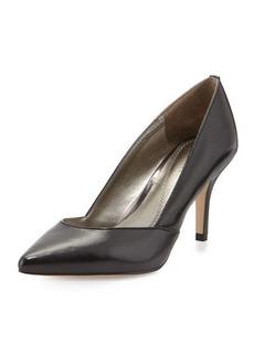 Tahari Pointy-Toe Leather Pump