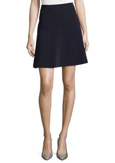 Tahari Ponte Flare Skirt